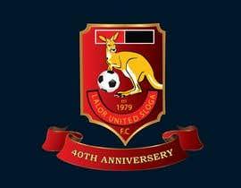 #37 για 40th Anniversary Logo - Lalor United FC από ferhanazakia