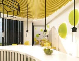 #64 para Make 3d renderings for a small vegan/bar restaurant. por mariajoself