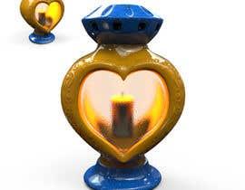 #16 dla Projekt ZNICZA na grób w kształcie serca. przez hendiart