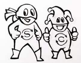 """#39 для Design two """"cartoon-super-hero-funny"""" characters от reddmac"""
