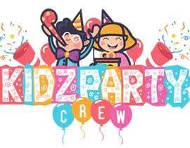 #23 for Logo for Kidz Party Crew af CR0NERIK