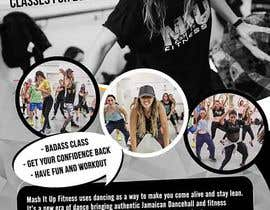 #29 for Flyer for dance fitness class by maidang34