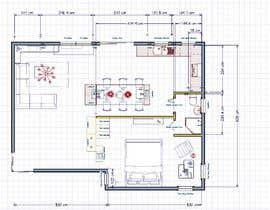 #15 для Floorplan for luxury vacation apartment от Ellen96