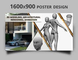 #15 pentru 1600x900 resoution graphic/poster design- 3D Theme de către DhanvirArt