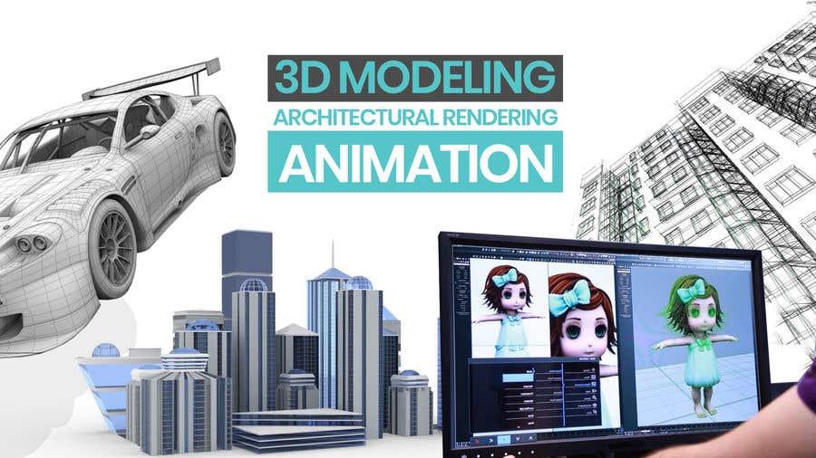 """Intrarea #4 pentru concursul """"1600x900 resoution graphic/poster design- 3D Theme"""""""