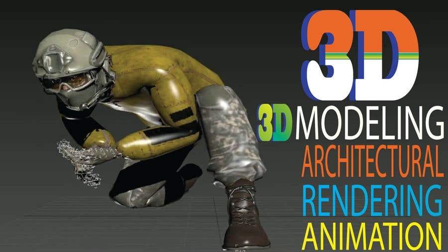"""Intrarea #2 pentru concursul """"1600x900 resoution graphic/poster design- 3D Theme"""""""