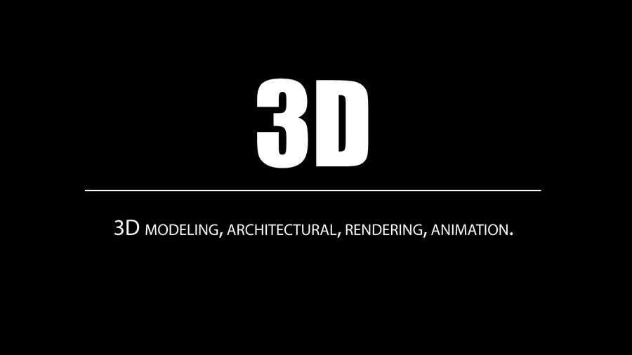 """Intrarea #1 pentru concursul """"1600x900 resoution graphic/poster design- 3D Theme"""""""