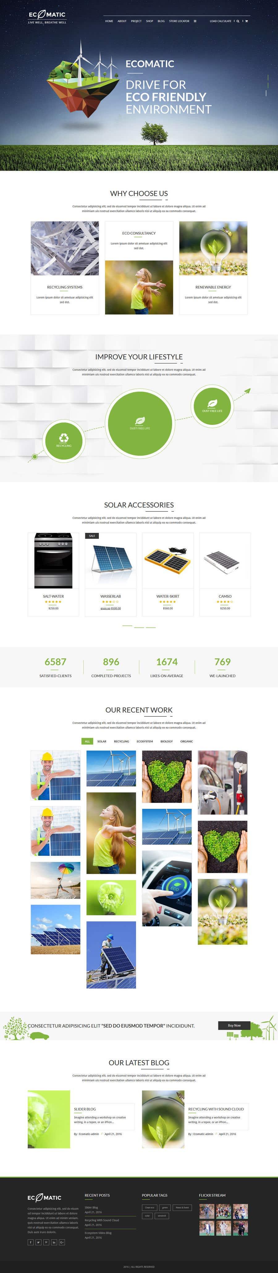 Penyertaan Peraduan #59 untuk wordpress theme design for battery and lighting subject