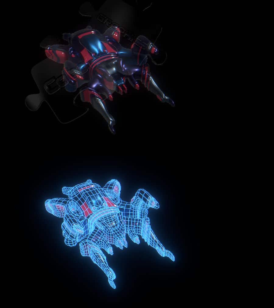 Wettbewerbs Eintrag #                                        7                                      für                                         Spaceship 3D-modeling for a new Game