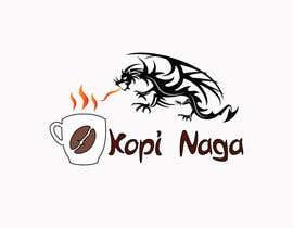 #6 for Make me a logo - Kopi Naga (Indonesian of Dragon Coffee) af creativeworker07