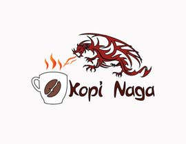#8 for Make me a logo - Kopi Naga (Indonesian of Dragon Coffee) af creativeworker07