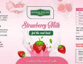 #24 for Design a label for  bottled milk juices by biswasshuvankar2