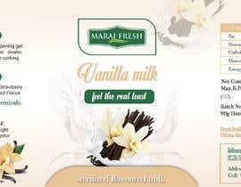 #40 for Design a label for  bottled milk juices by biswasshuvankar2