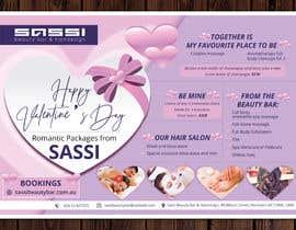 #18 for Adobe Illustrator Press Ready Postcard sized flyer for Valentine's Day by ssandaruwan84