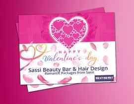 #22 para Adobe Illustrator Press Ready Postcard sized flyer for Valentine's Day por sadasadhin24