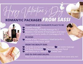 #19 for Adobe Illustrator Press Ready Postcard sized flyer for Valentine's Day by amcgabeykoon