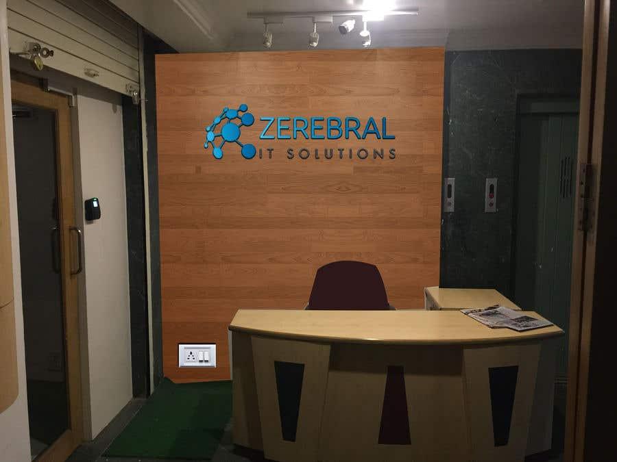 Kilpailutyö #53 kilpailussa Reception area backdrop design