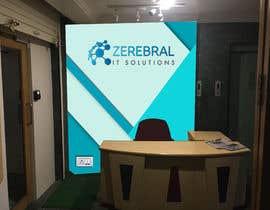 Nro 59 kilpailuun Reception area backdrop design käyttäjältä shorna99