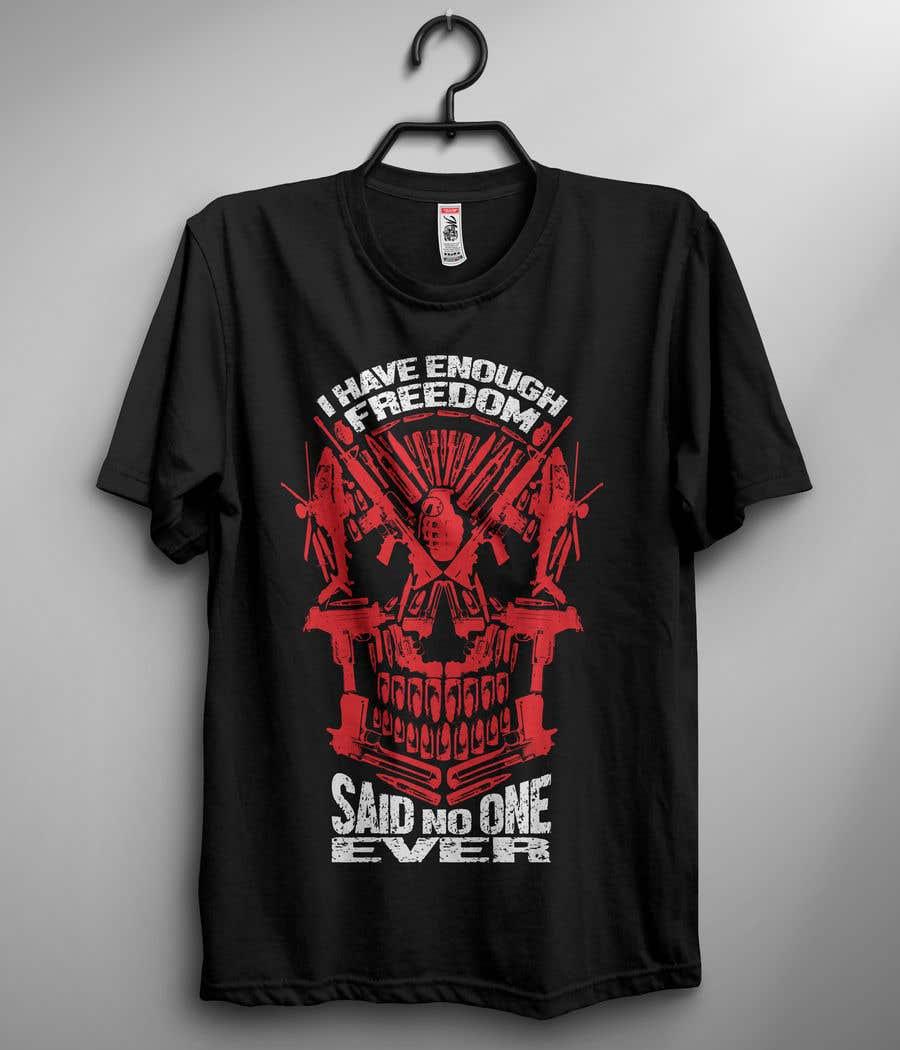 Proposition n°6 du concours We Need a T-Shirt Design - Patriotic Theme