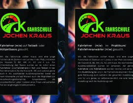 #16 für Create a job advertisement for a driving school von keineziffern
