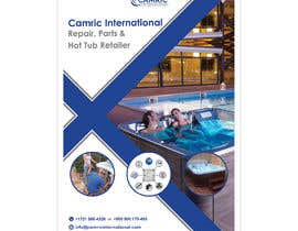#55 untuk Flyers for hot tub company Flyer size 4X611 oleh iamsmriad
