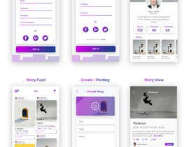 #27 cho Create mockups for Story Telling Mobile App bởi Ipauscream