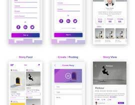Nro 27 kilpailuun Create mockups for Story Telling Mobile App käyttäjältä Ipauscream