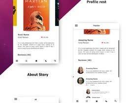Nro 23 kilpailuun Create mockups for Story Telling Mobile App käyttäjältä meemaw1