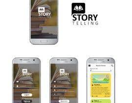 Nro 10 kilpailuun Create mockups for Story Telling Mobile App käyttäjältä DesignVibes4U