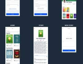 #24 cho Create mockups for Story Telling Mobile App bởi Fungo