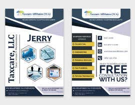 #9 для design double sided flyer - taxcare от AK5140