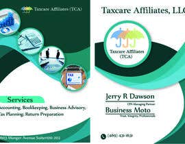 #3 для design double sided flyer - taxcare от shahbaz033217945
