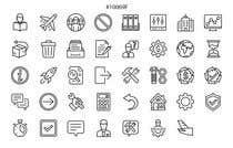 Graphic Design Kilpailutyö #7 kilpailuun Build me a new suite of Icons