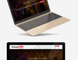 #37 for Design homepage Ticketing for events by shamrat42