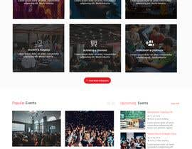 #38 for Design homepage Ticketing for events by shamrat42