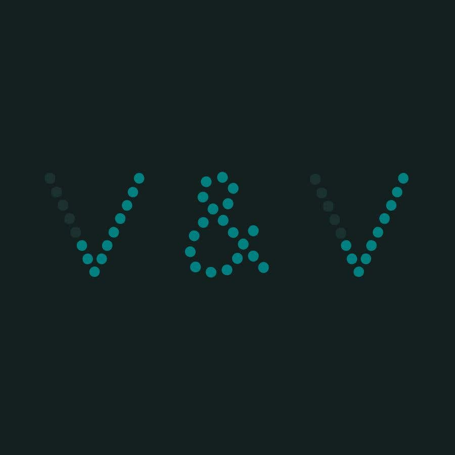 """Contest Entry #59 for Need logo for """"V&V"""" where the Vs are like ticks, looking for something to suit business market"""