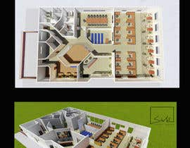 #34 for Design an Office Building Floorplan by EstebanGreen