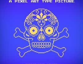 #104 untuk A pixel art type picture oleh R0ES