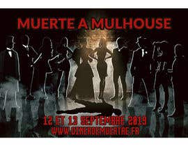 #60 for Design a poster for a murder dinner by gerardolamus