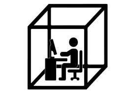#62 для Cubicle logo concept! от mustjabf