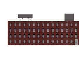 #16 for Create a 2d rendering front elevation of a building by meongwae