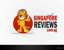 #137 untuk Logo Design for Singapore Reviews oleh Rubendesign