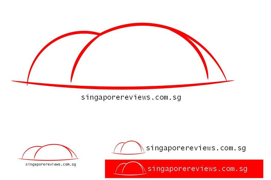 Bài tham dự cuộc thi #88 cho Logo Design for Singapore Reviews