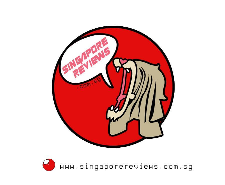 Kilpailutyö #                                        47                                      kilpailussa                                         Logo Design for Singapore Reviews