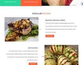 #111 для Food reviews Website от timmokm