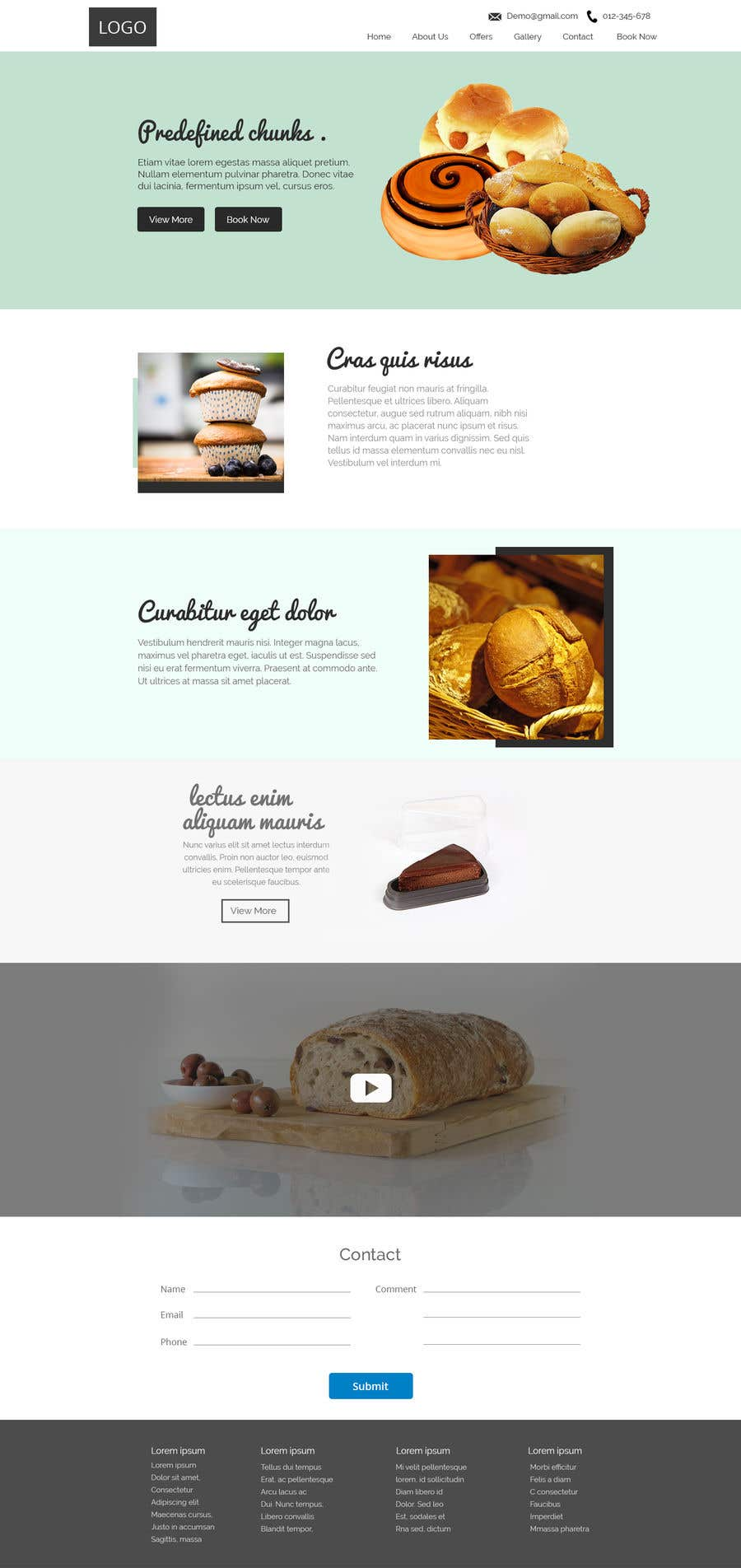 Entry #8 by webfactar for Food reviews Website | Freelancer