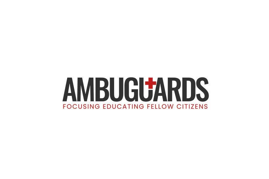 Penyertaan Peraduan #8 untuk Design a Logo for AmbuGuards