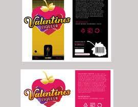 graphikajam tarafından Bottle label for Valentines liquer için no 5