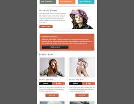 #10 for email marketing template to showcase products af arifmehrab