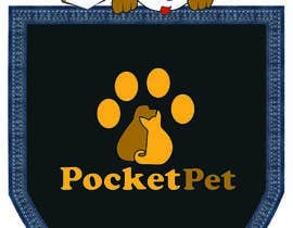 "#112 para Design a Logo for a online presence names ""pocketpet"" de katrinspasova"